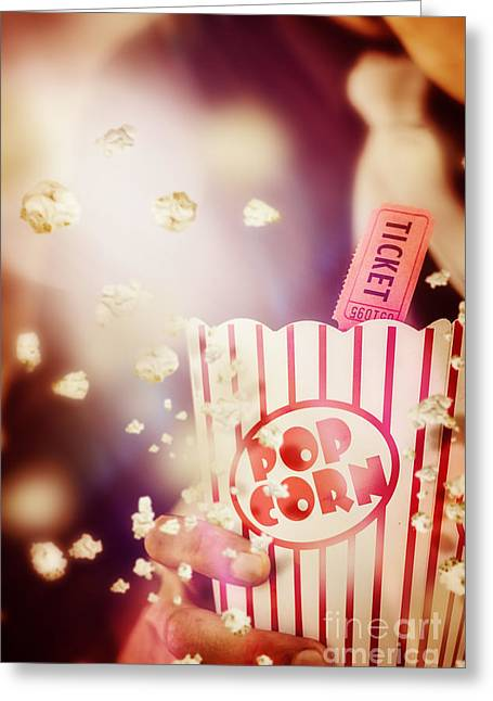 Vintage Film And Cinema Greeting Card by Jorgo Photography - Wall Art Gallery