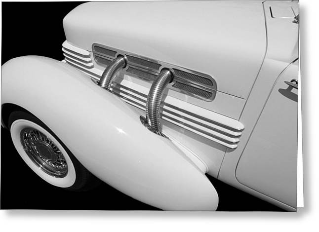 Classic Car Greeting Card featuring the photograph Vintage Ghost  by Aaron Berg
