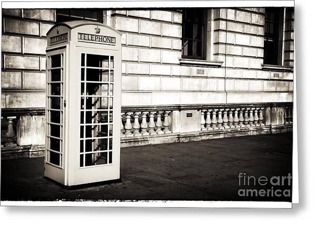 Vintage London Telephone Greeting Card