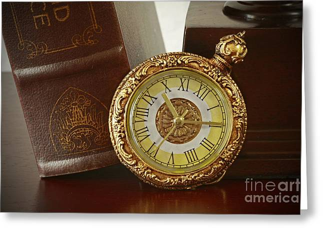 Vintage Moments In Time Greeting Card by Inspired Nature Photography Fine Art Photography