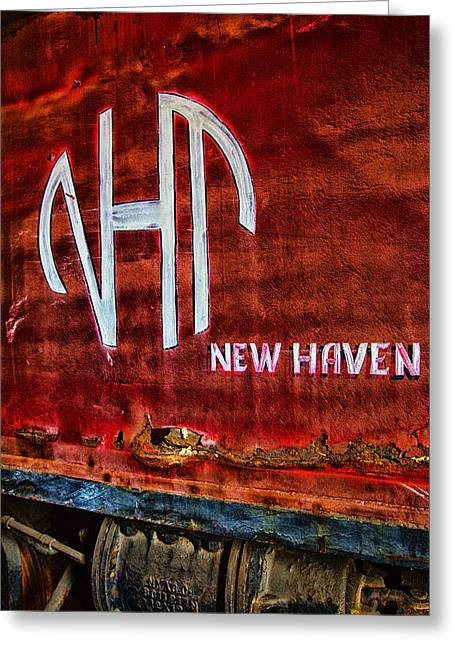 Vintage New Haven Train Greeting Card