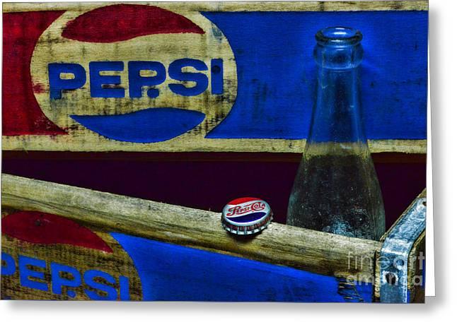 Vintage Pepsi-cola Greeting Card