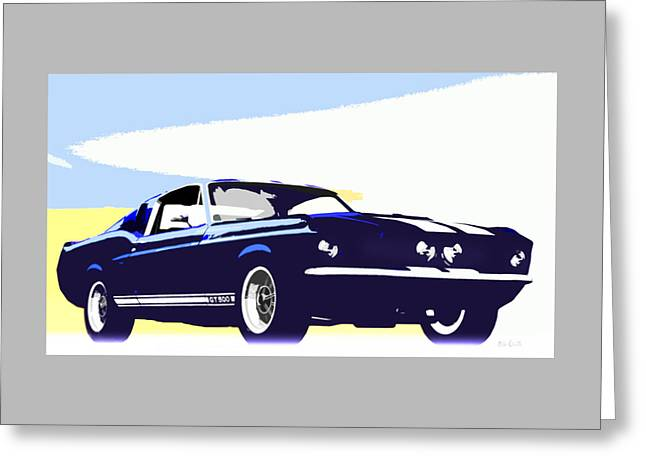 Vintage Shelby Gt500 Greeting Card