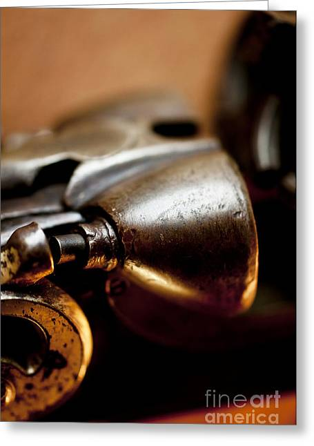 Vintage Shotgun Macro Greeting Card