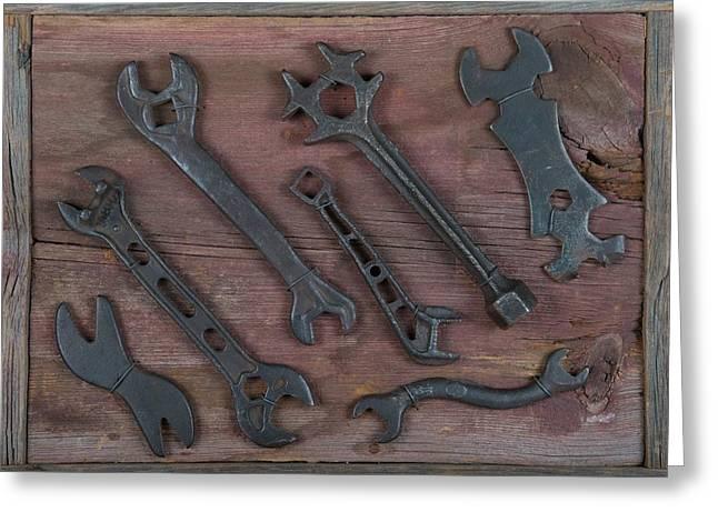 Tools Greeting Card by Kurt Olson