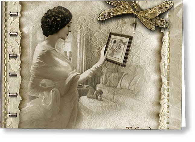 Vintage Vanity Greeting Card