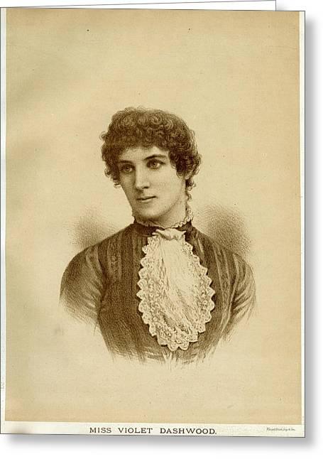 Violet Dashwood  Actress        Date Greeting Card