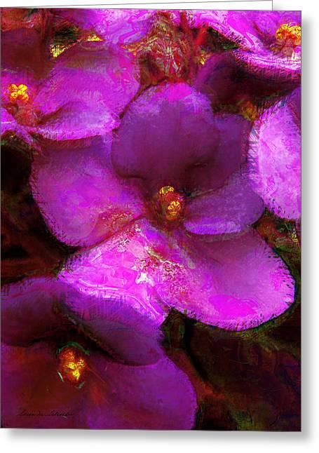 Violets No. 1 Greeting Card
