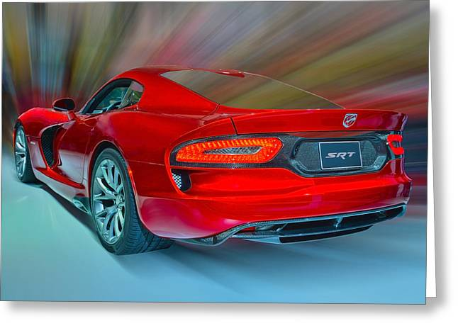 Viper S R T 2013 Greeting Card