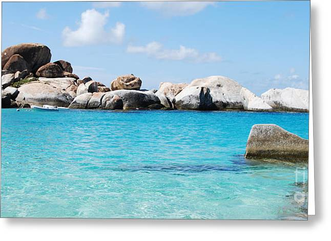 Virgin Islands The Baths Greeting Card