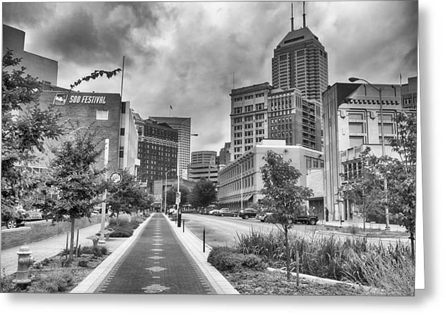 Greeting Card featuring the photograph Virginia Ave. by Howard Salmon