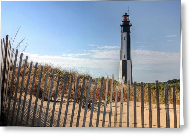 Virginia Beach Greeting Card by JC Findley