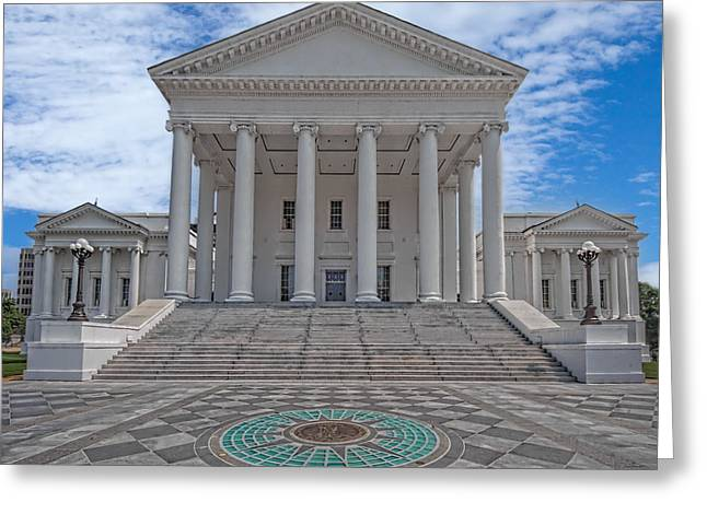 Virginia Capitol Greeting Card