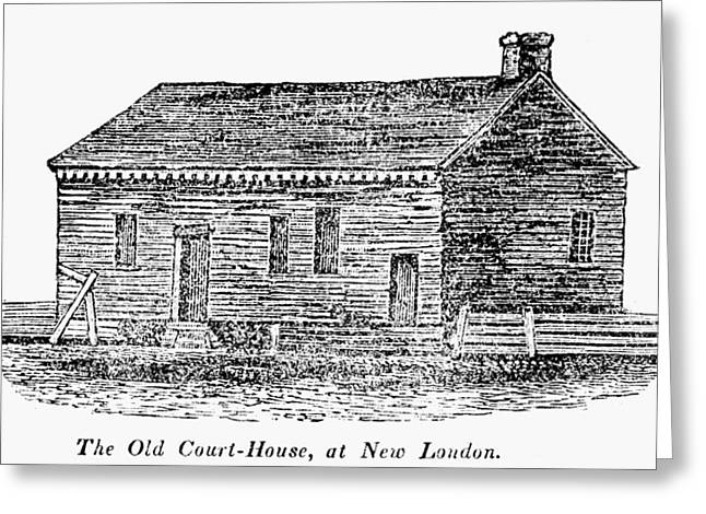 Virginia Court House Greeting Card by Granger