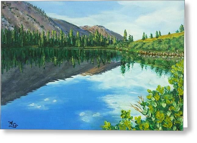 Virginia Lake Greeting Card