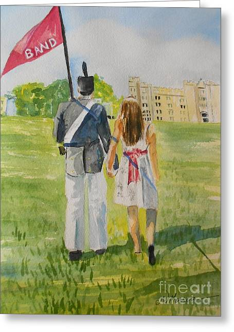 Virginia Military Institute Greeting Card