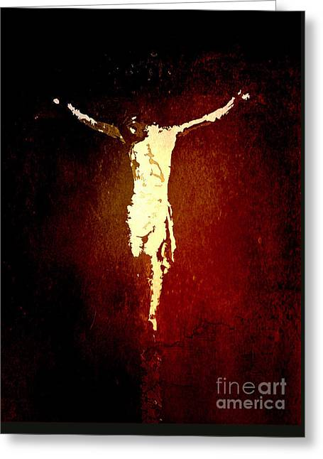 Vision Of Christ Greeting Card