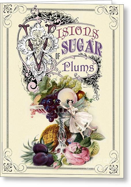Visions Of Sugar Plums Greeting Card