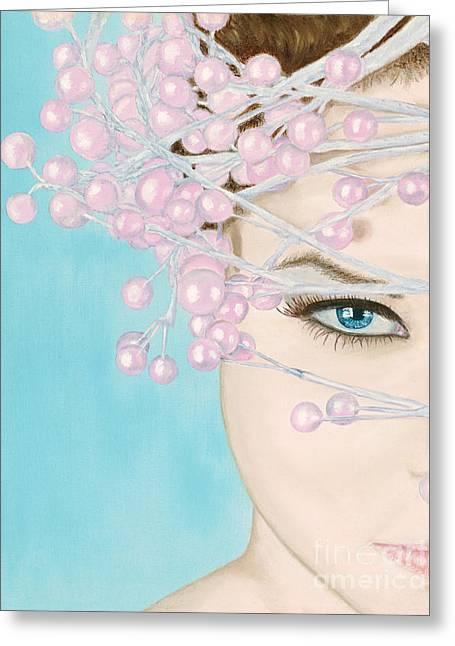 Visions Of Sugarplums Greeting Card by Dr B Lynn Tillman