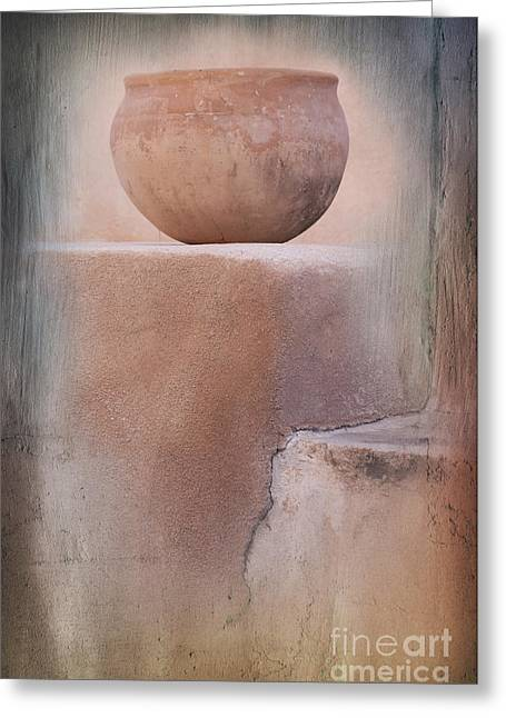 Visions Of The Past Greeting Card by Sandra Bronstein