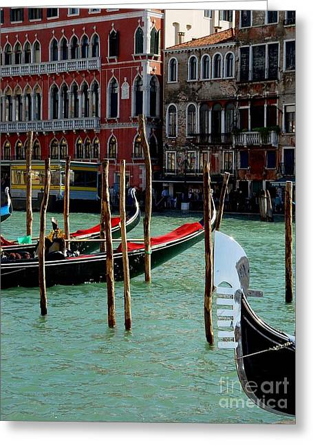 Visions Of Venice 4. Greeting Card by Nancy Bradley