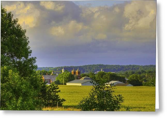 Vista At Tildon Wisconsin Greeting Card