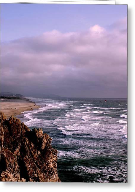 Vista Del Mar San Francisco Greeting Card by M Bleichner