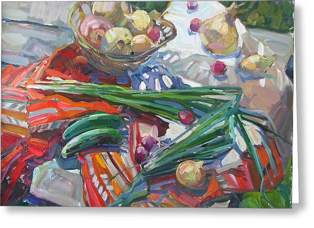 Vitamin Still Life Greeting Card