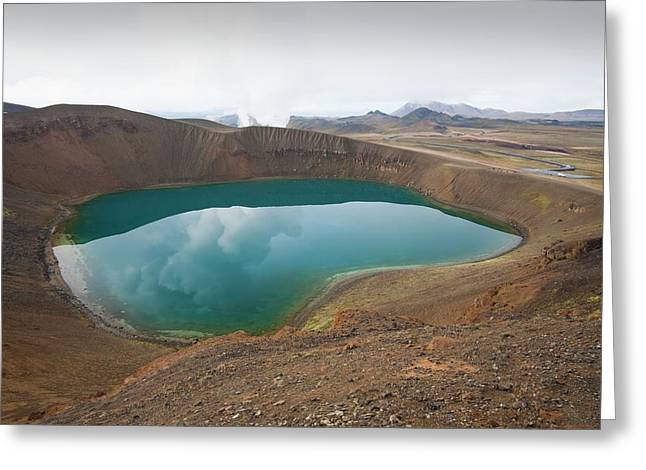 Viti Crater Greeting Card