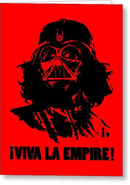 Viva La Empire Greeting Card by Vincent Carrozza