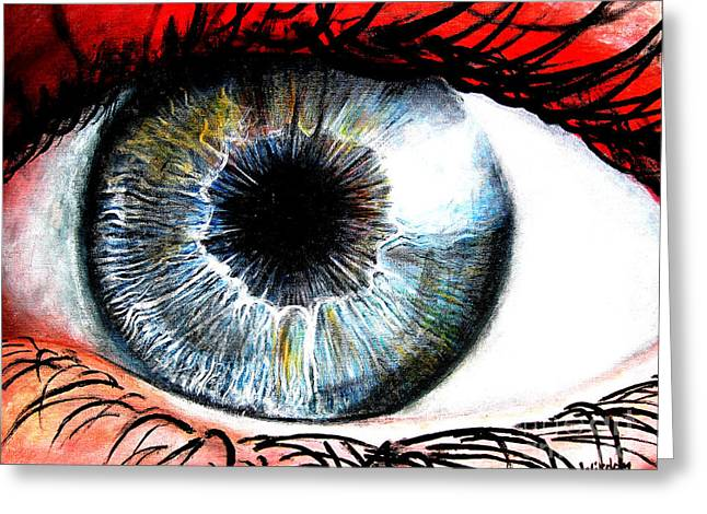 Vivid Vision  Greeting Card by Tylir Wisdom