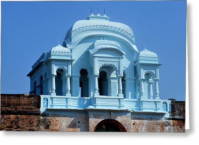 Vizianagaram Forte Greeting Card by Johnson Moya