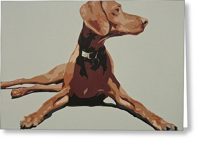 Vizsla 3 Greeting Card by Slade Roberts