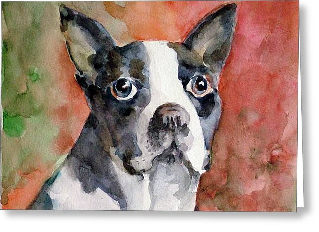 Vodka - French Bulldog Greeting Card