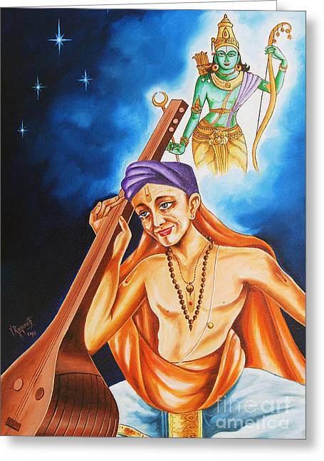 The Song Of Devotion Greeting Card