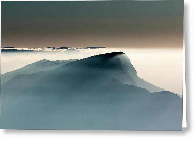 Voile Alpin Greeting Card