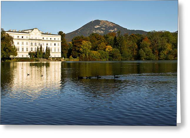 Greeting Card featuring the photograph Von Trapp's Mansion by Silvia Bruno