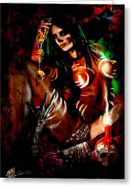 Voodoo U Greeting Card