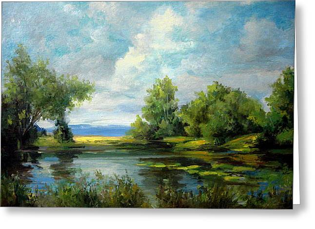 Voronezh River Beauty Greeting Card