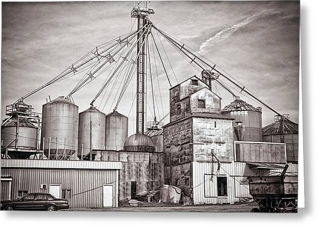 Voyces Mill Greeting Card by Sennie Pierson