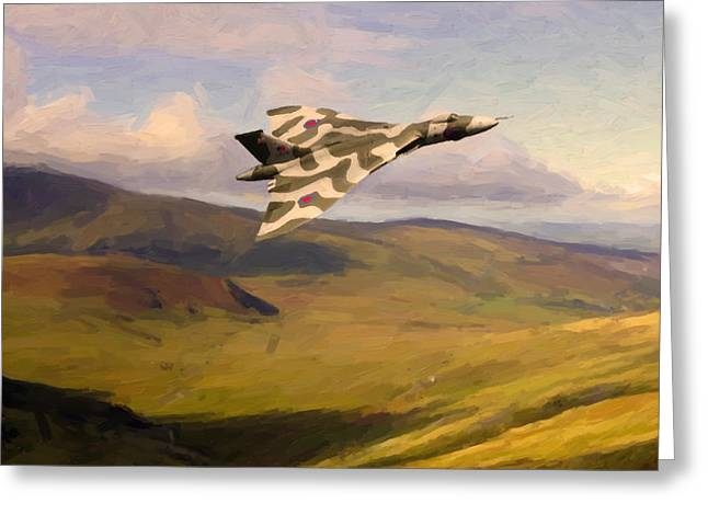 Vulcan On Exercise Greeting Card