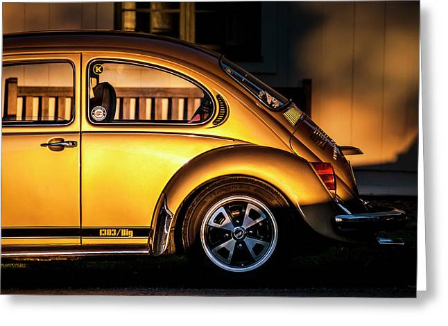 Vw Greeting Card by Benny Pettersson