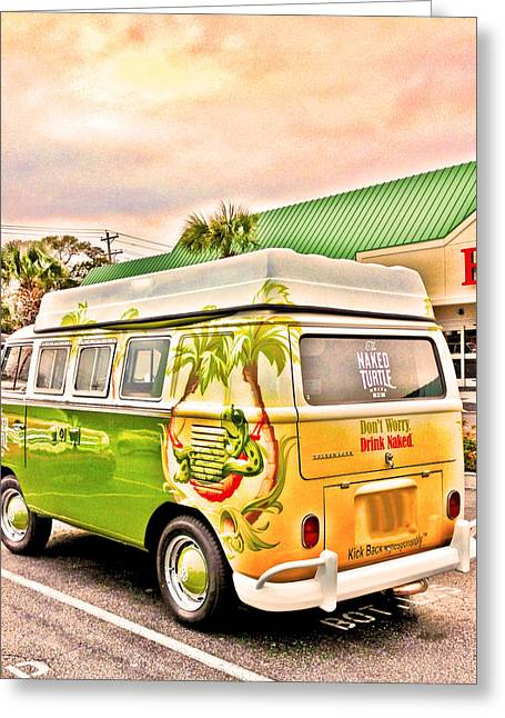 Vw Bus Stop Greeting Card