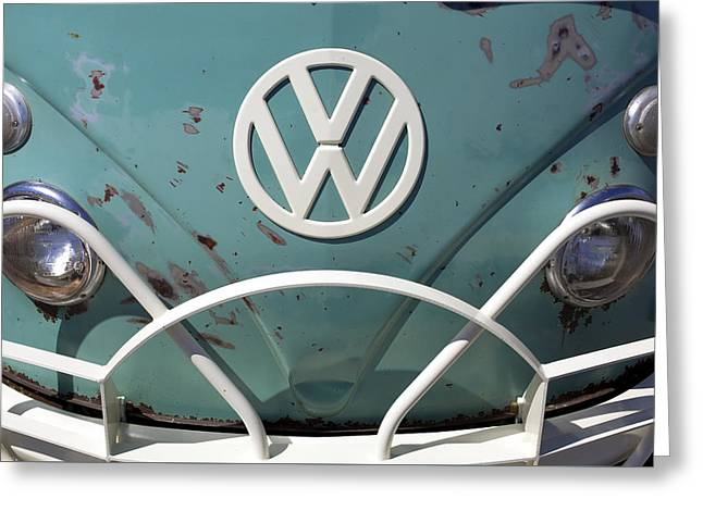 Vw Oldie But Goodie Greeting Card