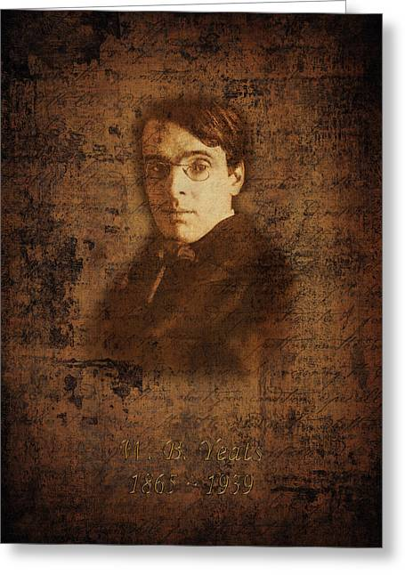 W. B. Yeats Greeting Card