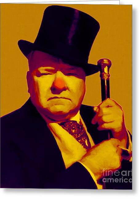 W C Fields 20130217p80 Greeting Card by Wingsdomain Art and Photography
