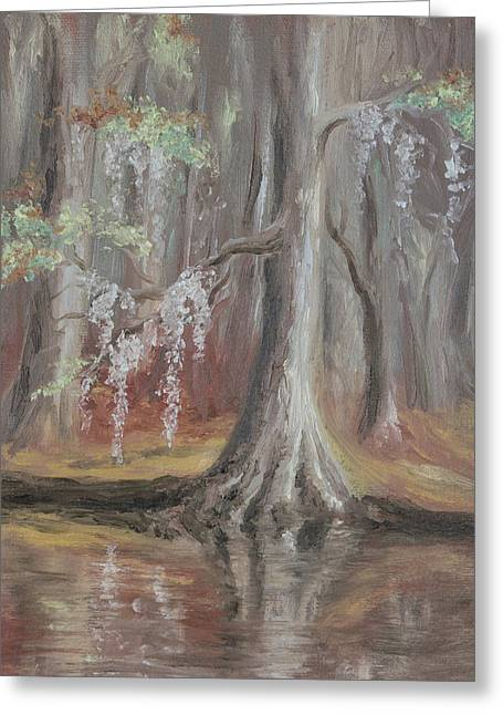 Waccamaw River Cypress Greeting Card