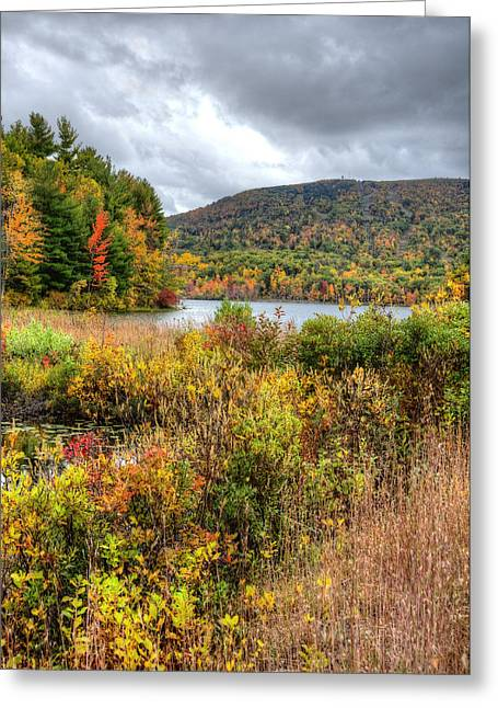 Wachusett Mt. In Autumn Greeting Card