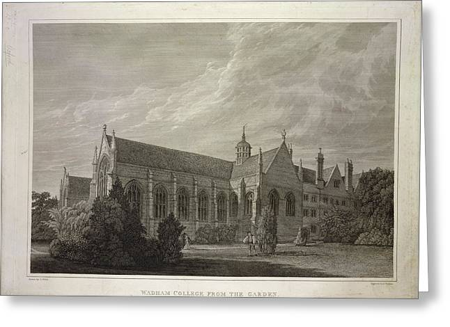 Wadham College Greeting Card by British Library