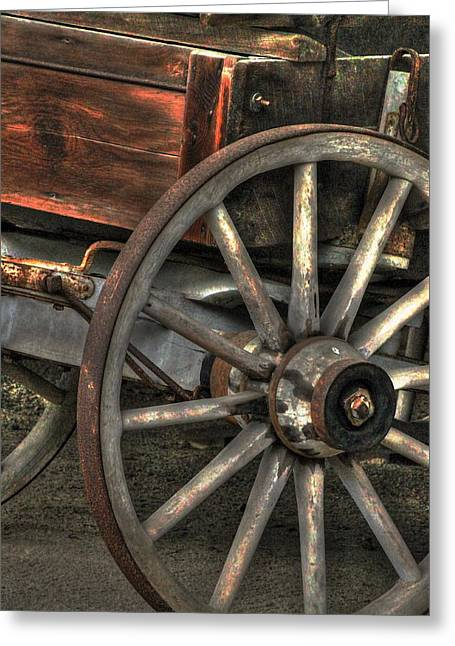 Wagonwheel Greeting Card